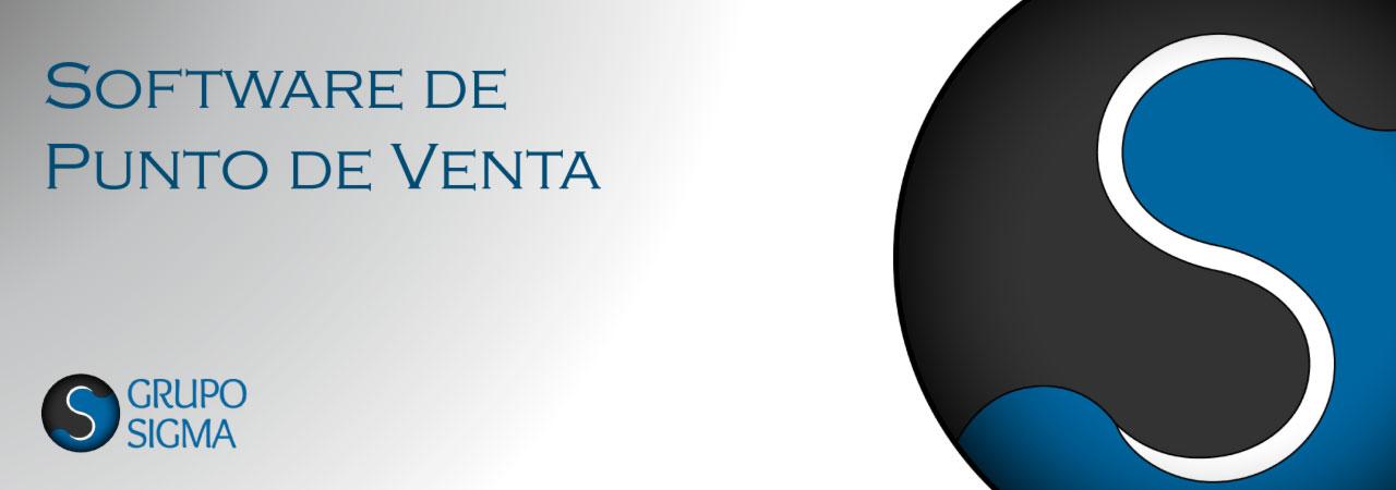Software de punto de venta Sigma